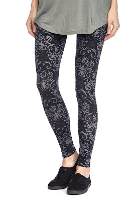 Printed Leggings from Cotton On
