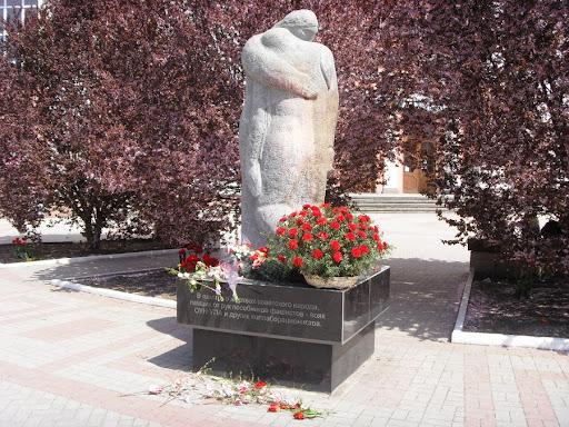 Памятник Выстрел в спину в Симферополе