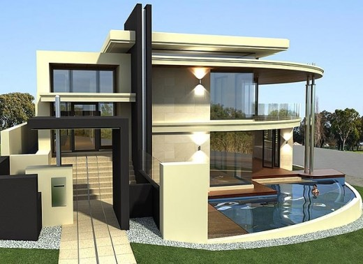 Modern unique homes designs modern home designs for New house design ideas
