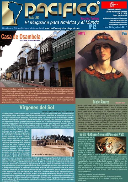 Revista Pacífico Nº 72 Turismo