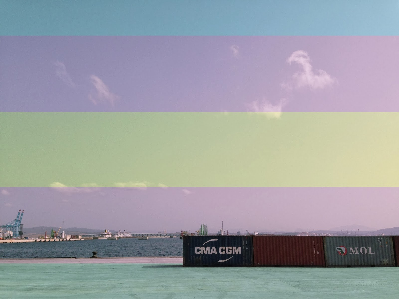 Algeciras, primer puerto del Mediterráneo y el quinto de la Unión Europea.