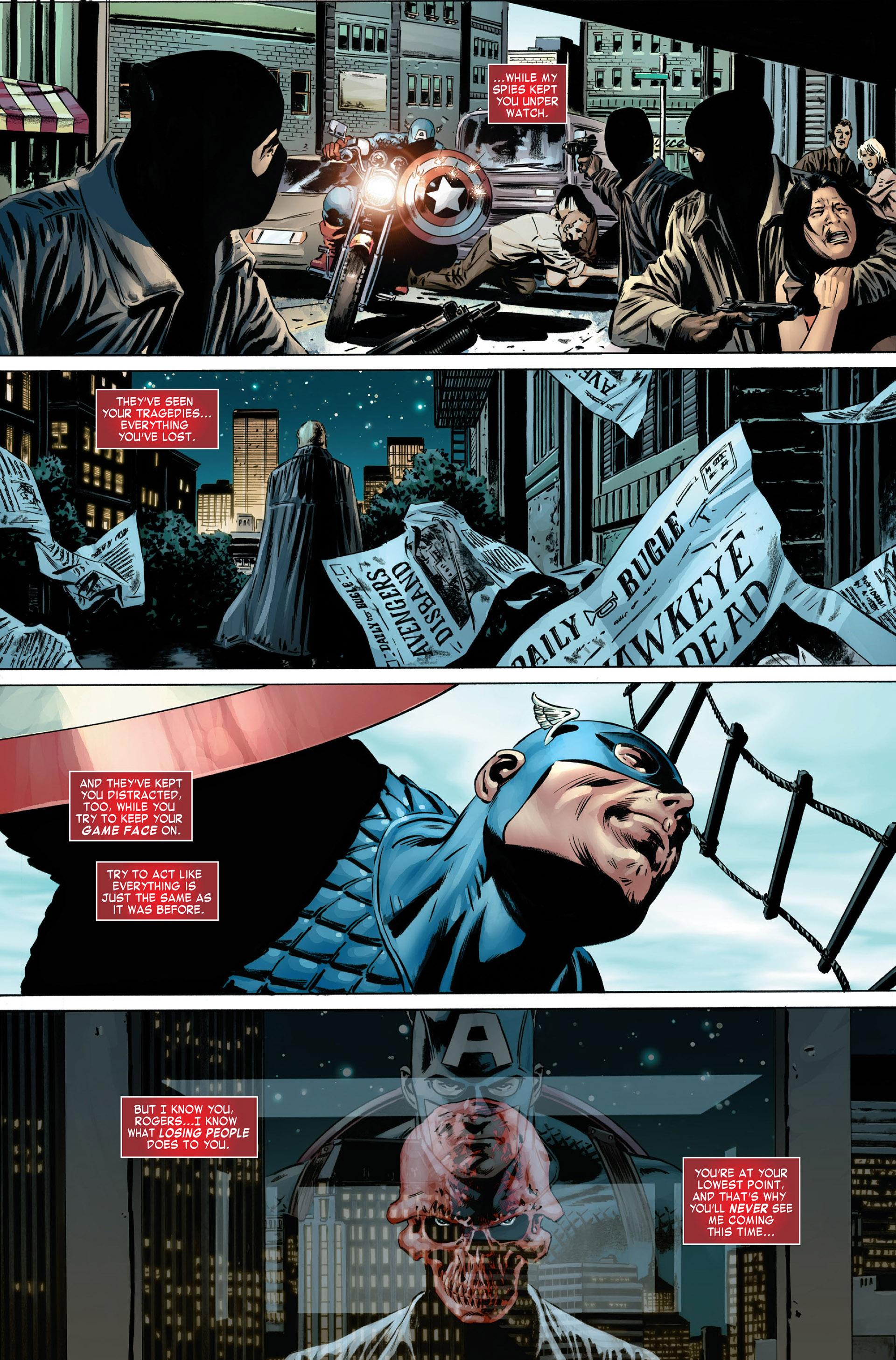 Captain America (2005) Issue #1 #1 - English 9