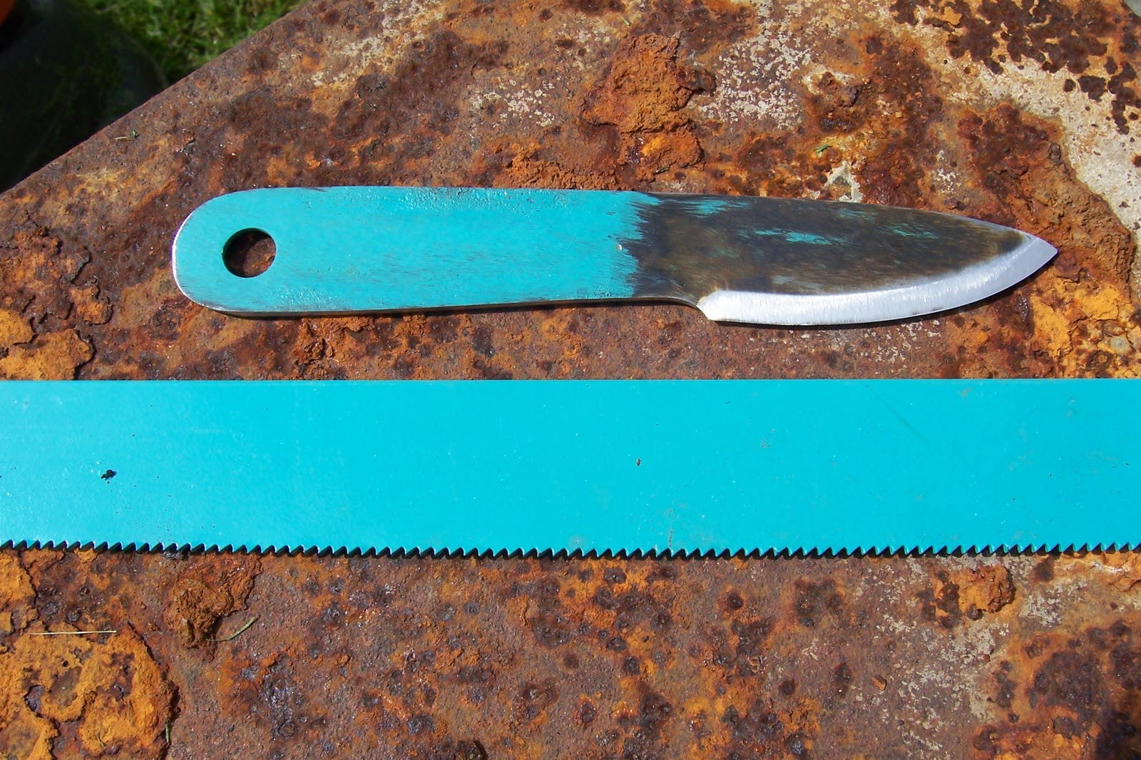 Buzzard bushcraft hacksaw blade knife hacksaw blade knife keyboard keysfo Image collections