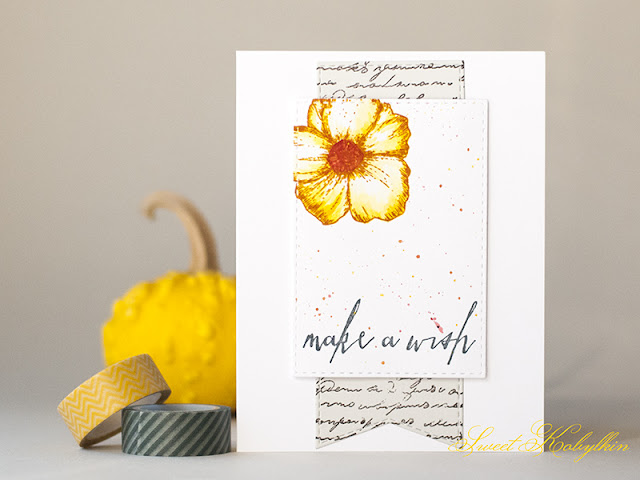 Greeting Card with Live Laugh Love from IndigoBlu by Sweet Kobylkin