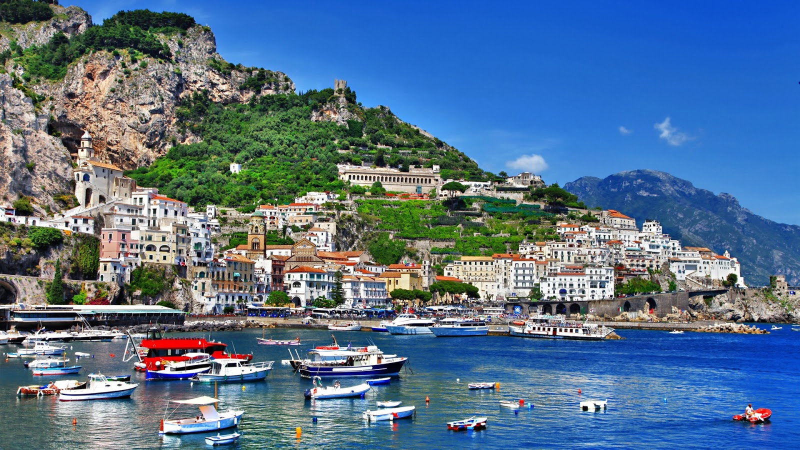 Italy Salerno Full Hd Desktop Wallpapers 1080p