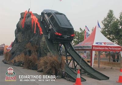 Pembuatan Dekorasi Untuk Auto Show