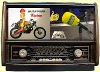 La Bultaco en la radio