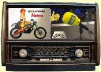 La Bultaco en la radio