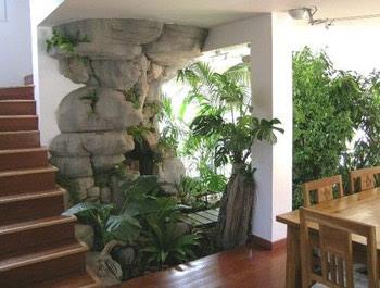 Decorando casas y mas jardines modernos para interior de for Jardines interiores modernos