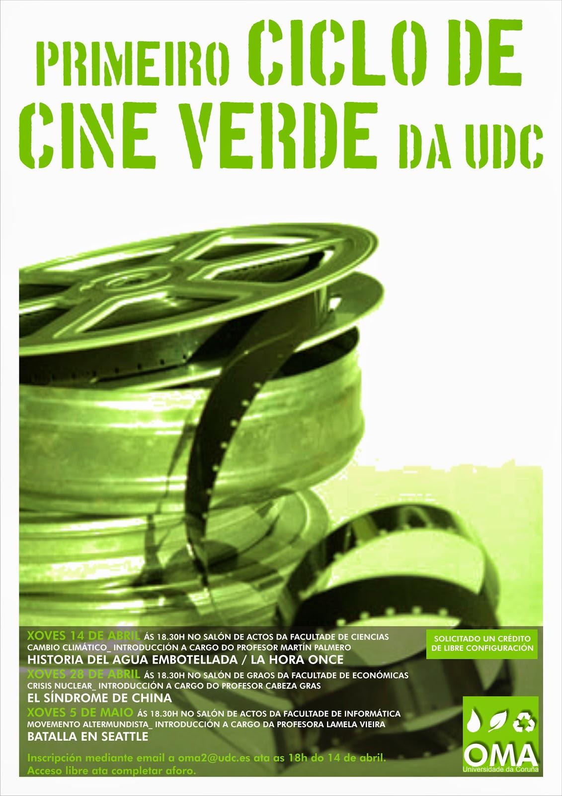 I ciclo de cine verde da udc oficina de medio ambiente for Oficina de medio ambiente