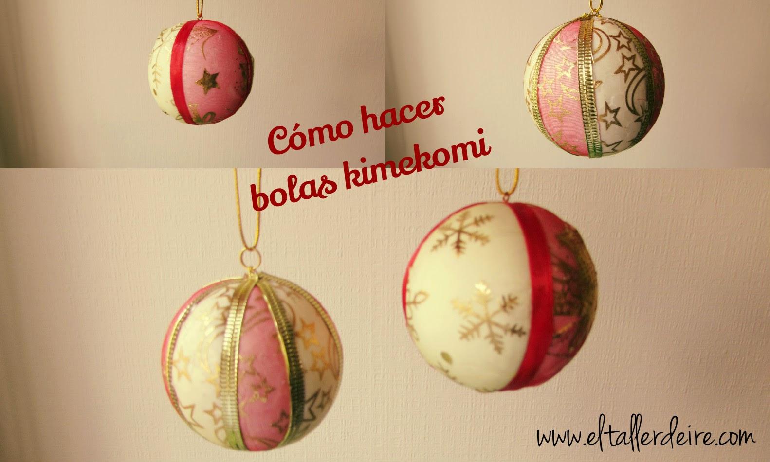 Bolas de navidad aprender manualidades es - Bolas arbol navidad manualidades ...