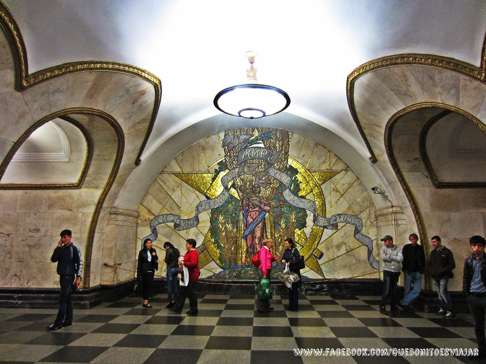 Estación de Novoslobodskaya