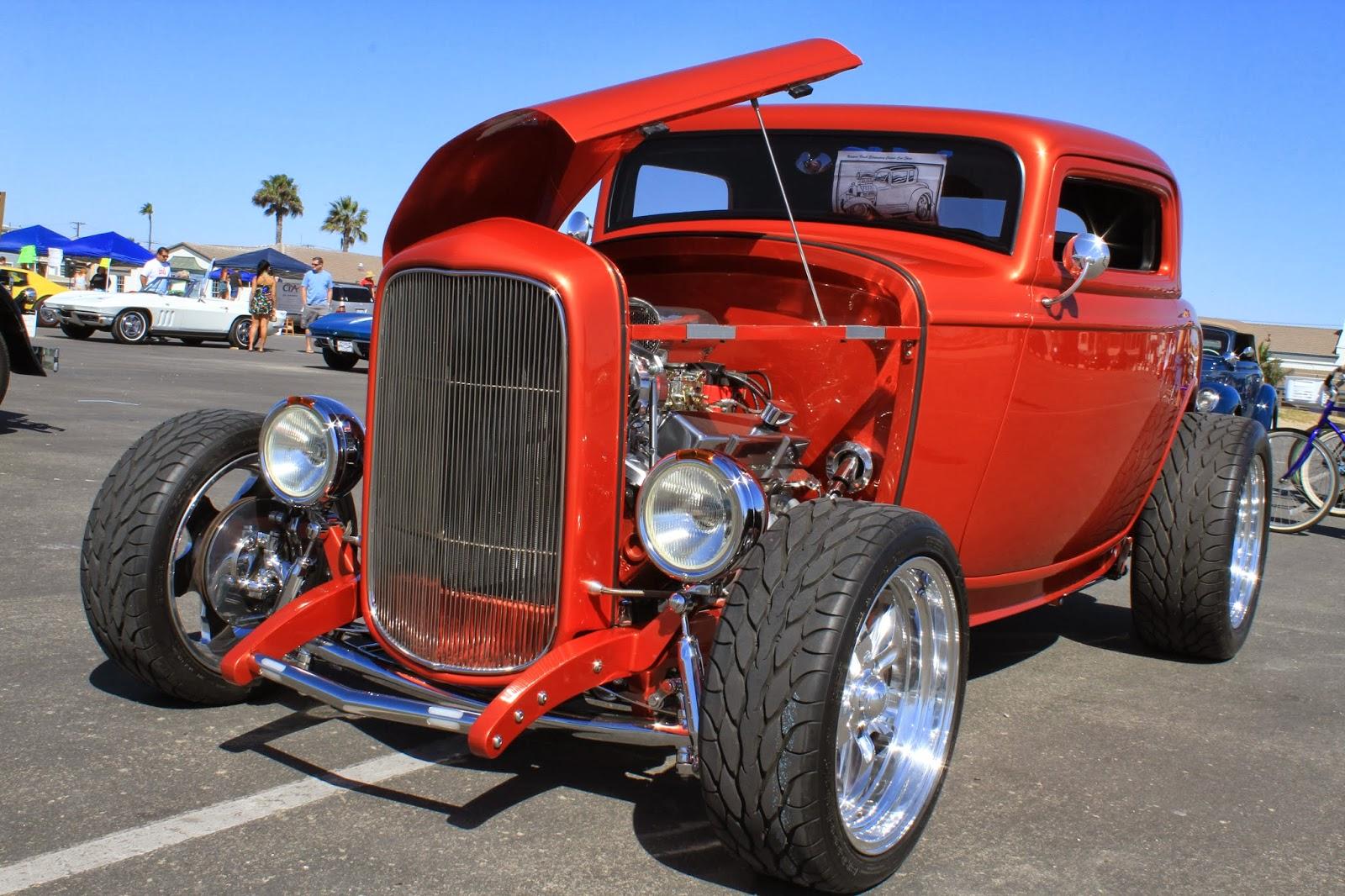 Poor Boy Hot Rod Garages : Evento em região litoranea da california garage old school