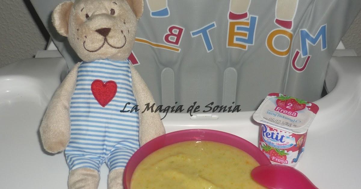 La magia de sonia crema ligera con quesitos baby cenas - Cenas para bebes de 15 meses ...