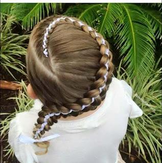 Model Rambut Kepang Anak Cewek