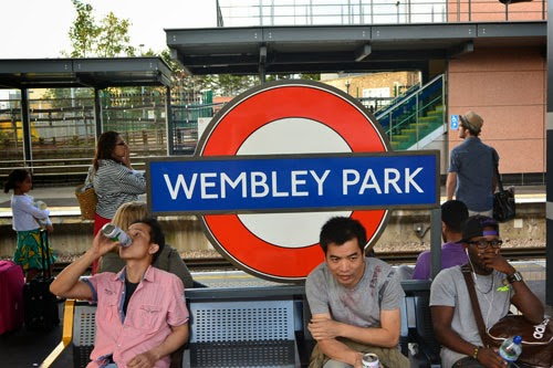 Wembley Park Station, London, UK
