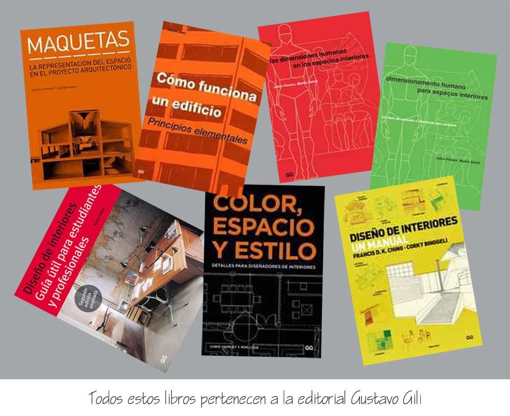 Libros de dise o interior y arquitectura recursos for Software diseno de interiores gratis