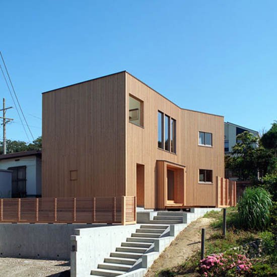 Modern Wooden Japanese Home Design