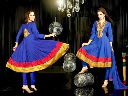 Anarkali Frocks for Girls