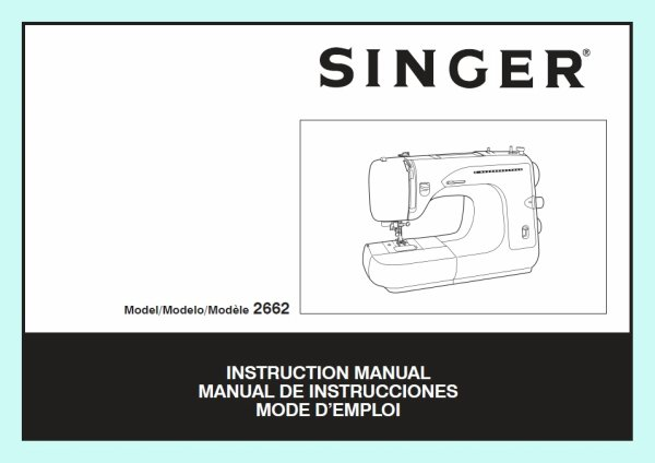Always check your machine's manual first to answer basic sewing questions.