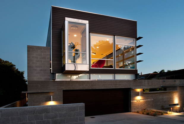 Genial Modern Homes Designs Front Views San Diego.