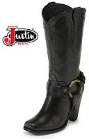 Justin cowgirl boot