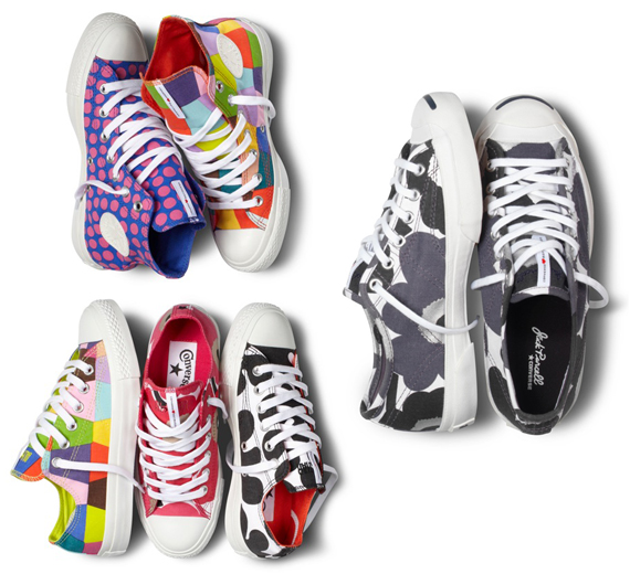 converse x marimekko follow the colours. Black Bedroom Furniture Sets. Home Design Ideas