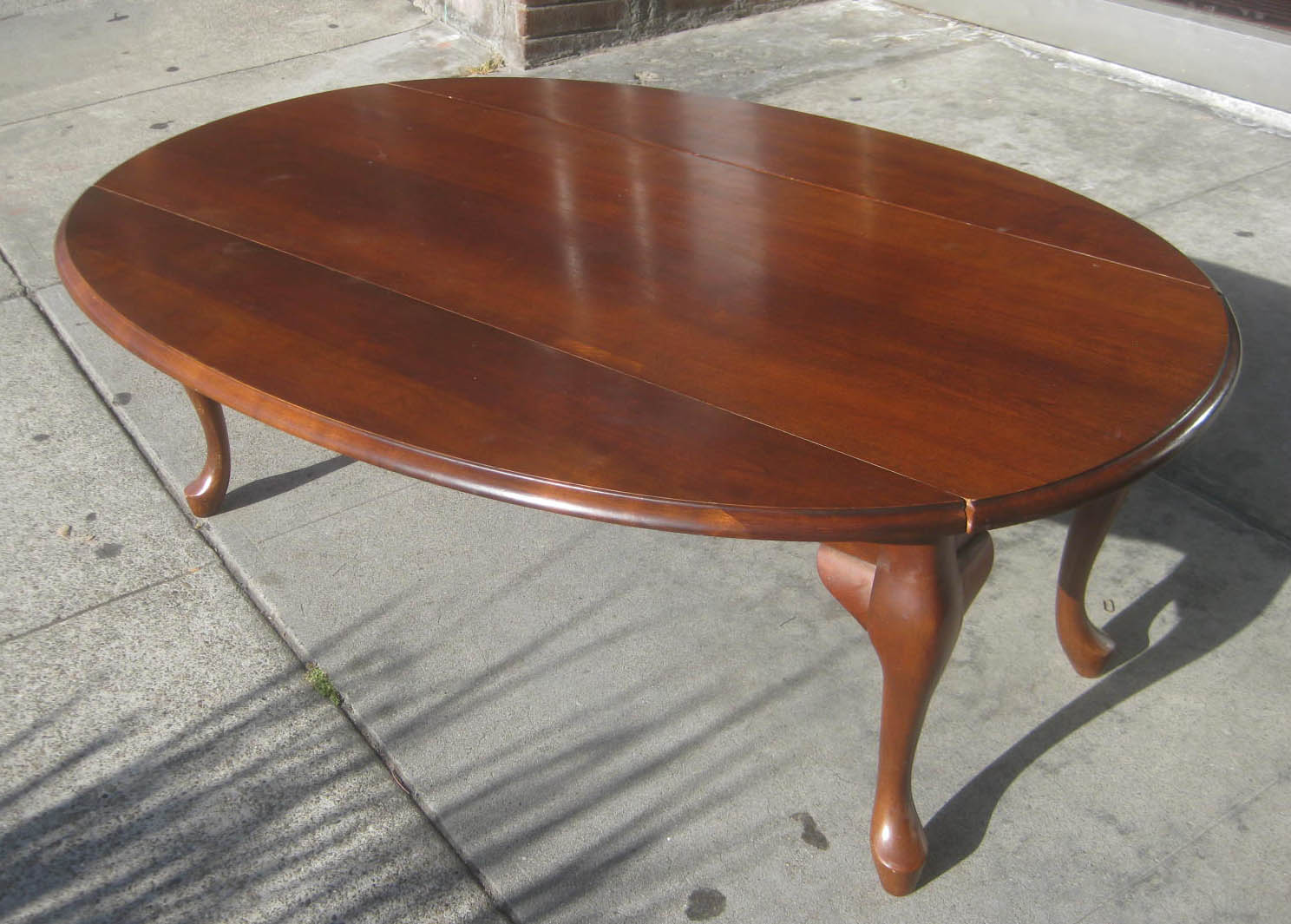 Uhuru Furniture Collectibles Sold Drop Leaf Coffee Table 85