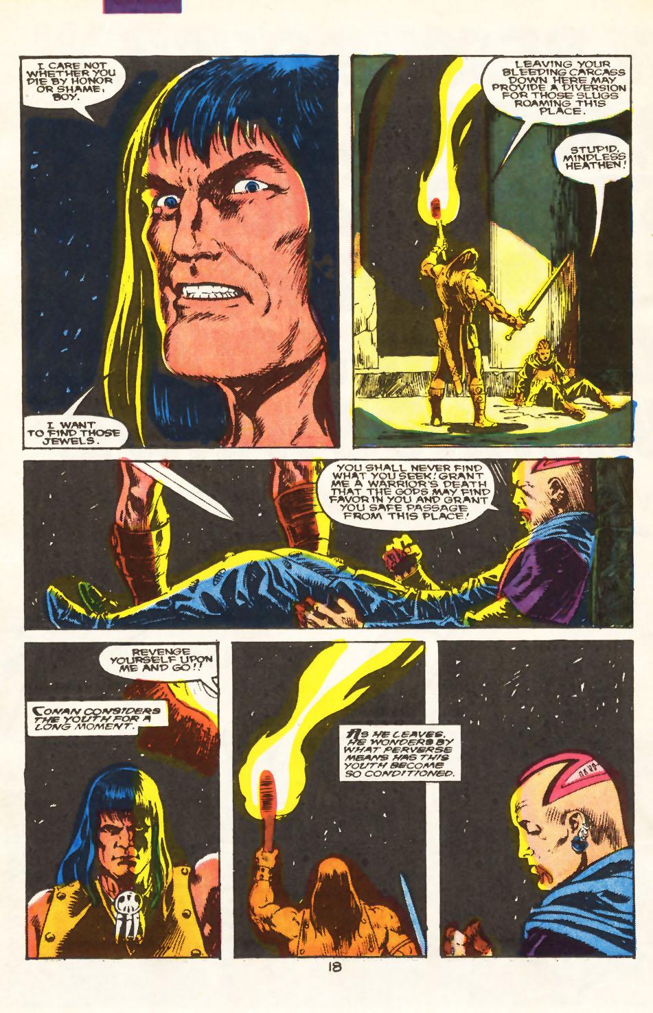 Conan the Barbarian (1970) Issue #212 #224 - English 12