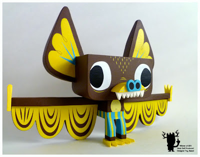 Hermees Yellow Edition Vinyl Figure by Gary Ham