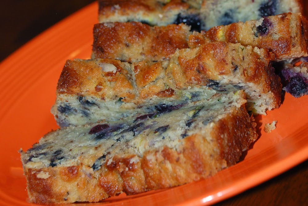 Whatsoever is Pure: {S} THM Blueberry Zucchini Bread