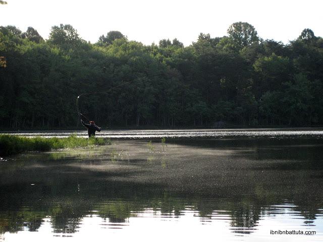 Thinking globally adventuring locally washington dc for Burke lake fishing