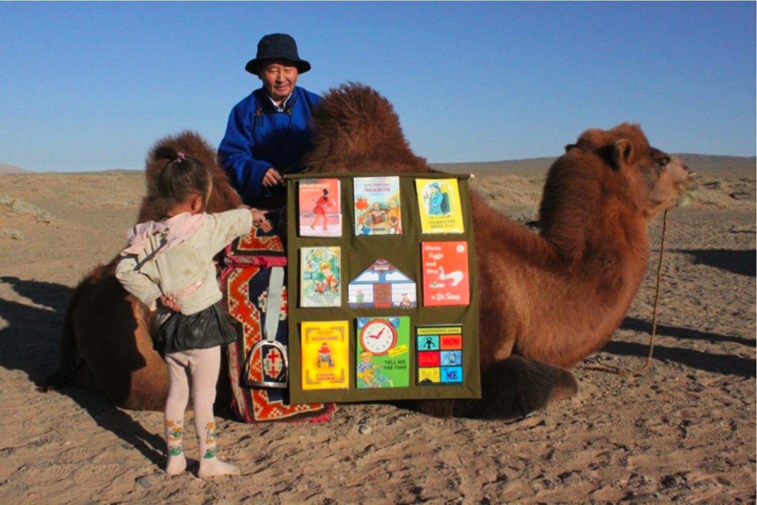 Sciwhy the science of finding stories camel library in mongolias gobi desert fandeluxe Images