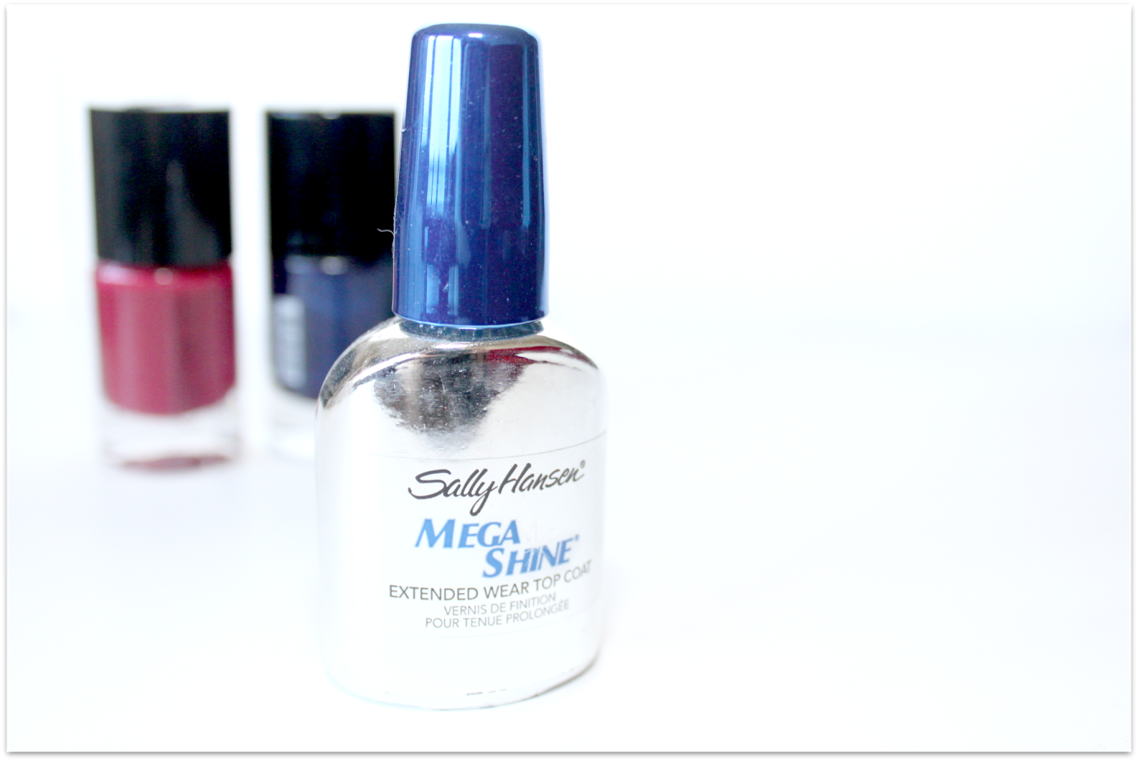 manicure with mega shine