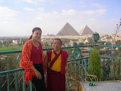 Guruwafaa with Lama Tenzin in Egypt