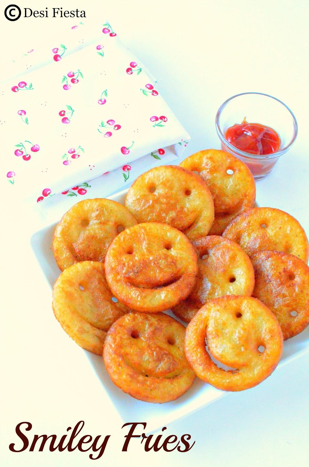 Smiley Potato Fries