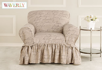Sure Fit Slipcovers: New Arrival! Pen Pal, Waverly™ by ...