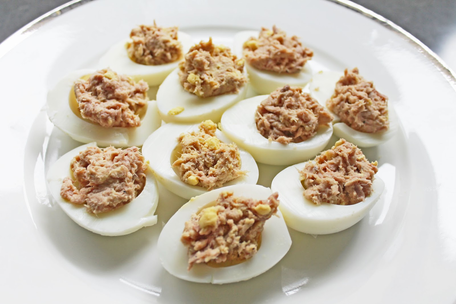 Clean Eating Recipe: Tuna Deviled Eggs | Clean Eating Meal Plan | Easy ...
