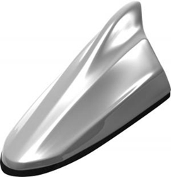 FDA4H-NH833M Honda Sterling Silver Metallic Shark Fin Antenna