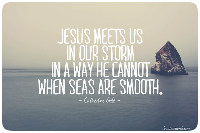 Catherine Gale quote about storms