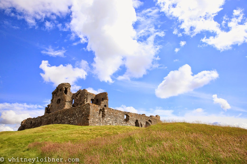 Auchindoun Castle Ruins