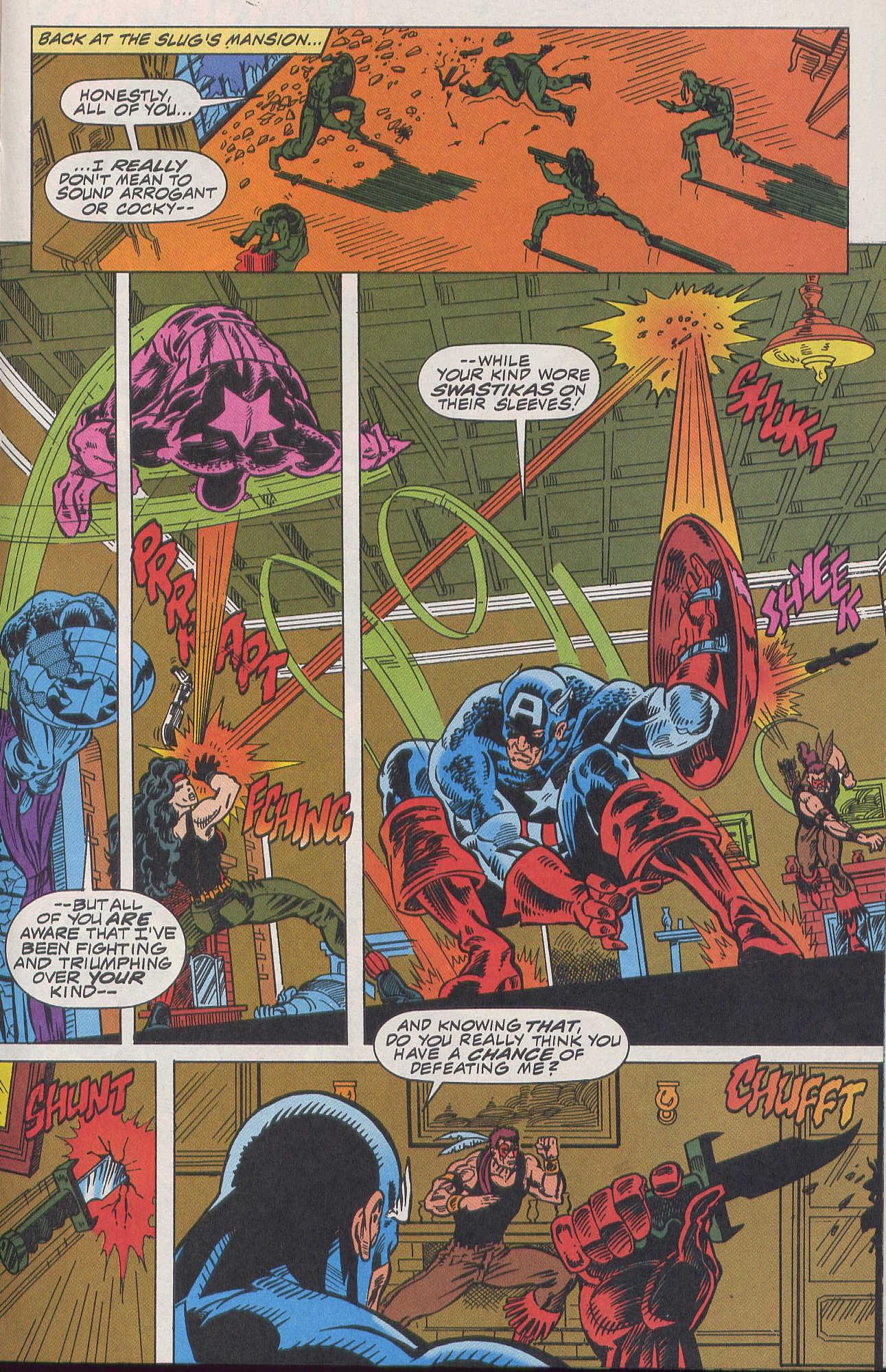 Captain America (1968) Issue #420b #370 - English 11