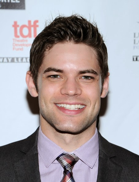 Jeremy Jordan Spiked Hairstyle