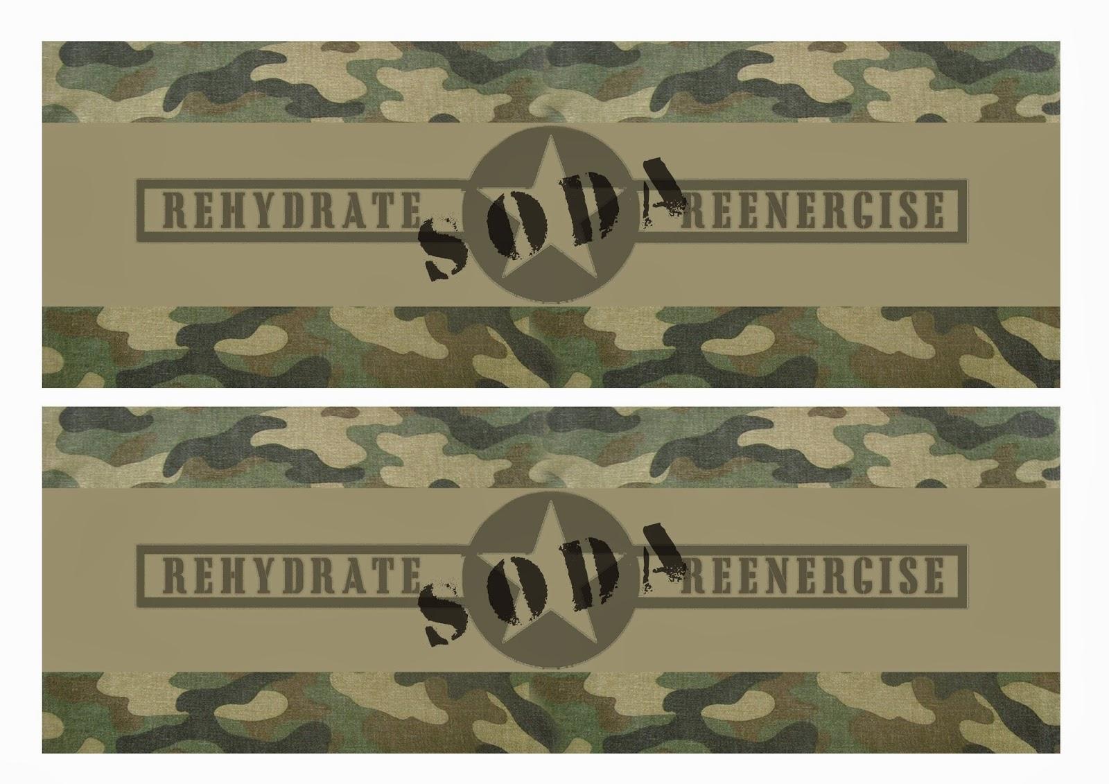 Great Fun Etc Army Party Prep Stencil Tutorial Free Printables