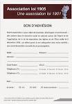 BULLETIN D'ADHESION