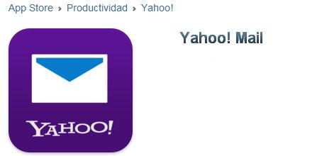 App Yahoo Mail para i Phone | Iniciar sesion correo
