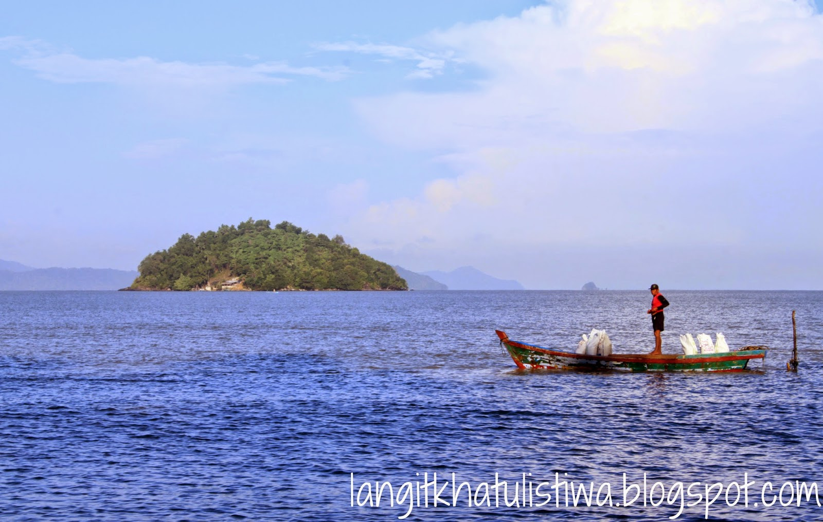 Fisherman of Gosong Beach