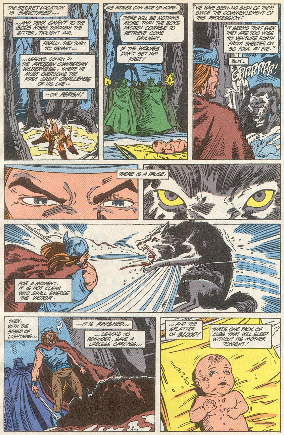 Conan the Barbarian (1970) Issue #233 #245 - English 5