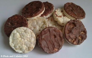 Chocolate Covered Rice Cakes Calories