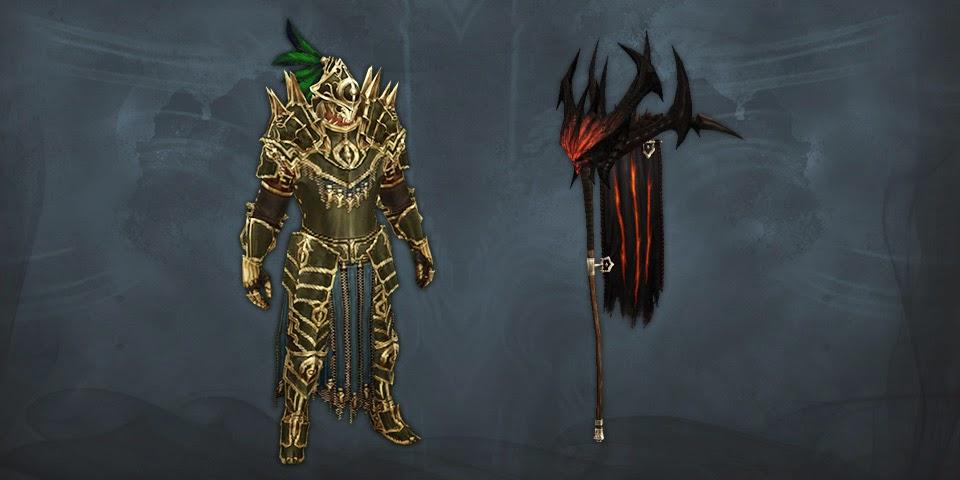 recompensas de temporada Diablo III